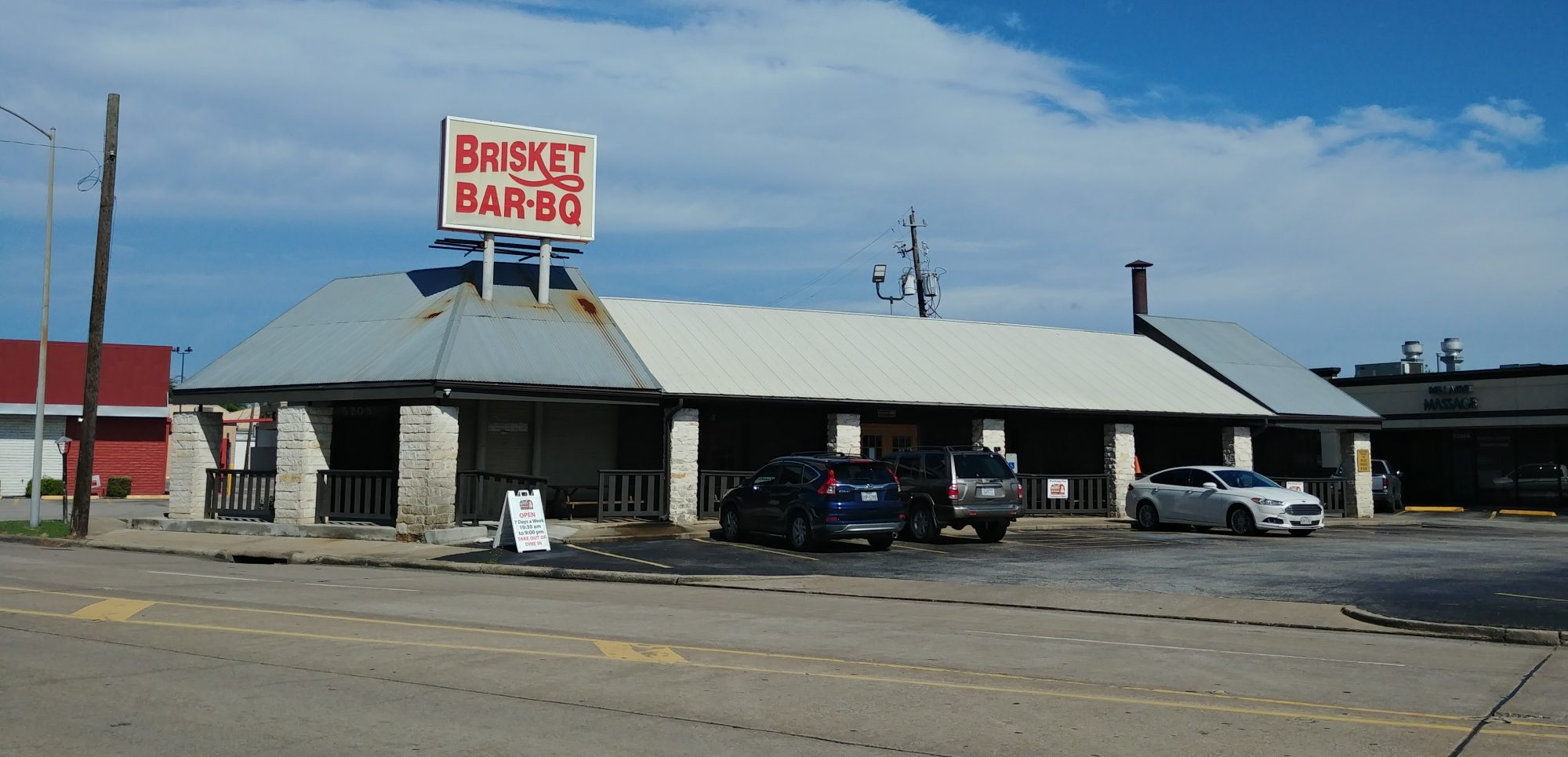 Brisket Bar-BQ space available for lease